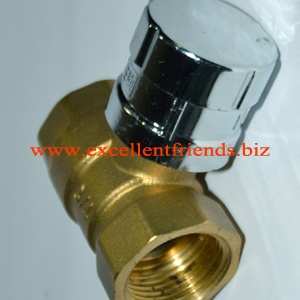 Brass Ball Valve with Magnetic Cover