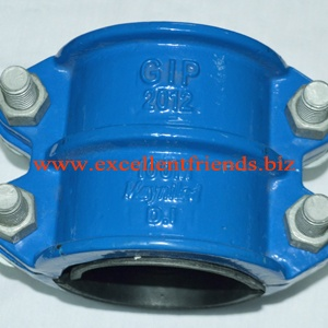 DI Saddle Clamps for PVC-HDPE