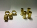Brass water meter Tailpieces