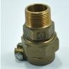 Brass St. Coupling ISO
