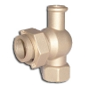 Brass Angle Meter Valves with Cap & Key