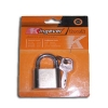 Padlocks with single key pattern , 50 pcs / box
