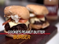 COOKIE'S PEANUT BUTTER BURGER