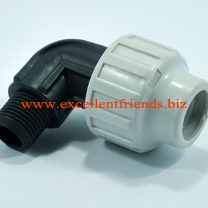 Plastic  Male Elbow PN16 CT